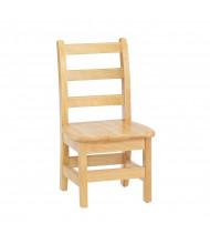 "Jonti-Craft KYDZ 8"" Seat Height Ladderback School Chair, Pair"