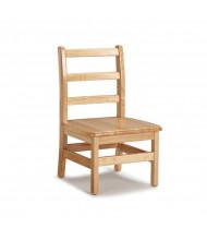 "Jonti-Craft 12"" Seat Height Instructor's Ladderback School Chair, Pair"