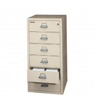FireKing 6-2552-C Fireproof File Cabinet Shown in Parchment