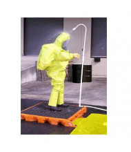 """Ultratech 6000 Tactical 52"""" W x 56"""" L Decon Deck, 110 Gallons (example of use)"""