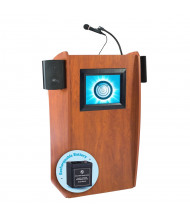 Oklahoma Sound Vision LCD Screen Sound System Lectern, Battery