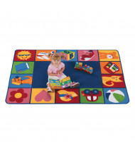 Carpets for Kids Toddler Blocks Rectangle Classroom Rug