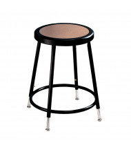 "NPS 19"" - 27"" Height Adjustable Science Lab Stool (Shown in Black)"