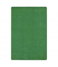 Joy Carpets Just Kidding Solid Color Classroom Rug, Grass Green