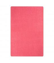 Joy Carpets Just Kidding Solid Color Classroom Rug, Hot Pink