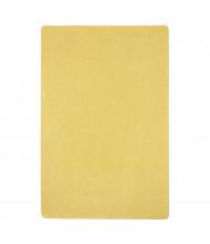 Joy Carpets Just Kidding Solid Color Classroom Rug, Lemon Yellow