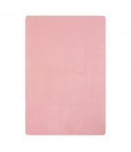 Joy Carpets Just Kidding Solid Color Classroom Rug, Pale Pink
