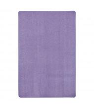 Joy Carpets Just Kidding Solid Color Classroom Rug, Very Violet