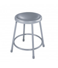 "NPS 18"" H Padded Round Science Lab Stool"