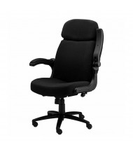 Mayline 6446AG Big & Tall 500 lb. Pivot-Arm Fabric High-Back Executive Office Chair (Shown in Black)