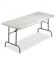 "Iceberg IndestrucTable Too 30"" x 60"" Bi-Fold Folding Table"