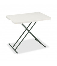 """Iceberg IndestrucTable Too 30"""" x 20"""" Personal Folding Table"""
