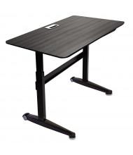 "Iceberg 59"" W x 29"" D Height Adjustable Laminate Desk (Shown in Espresso)"