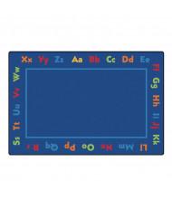Carpets for Kids Alphabet Rectangle Classroom Rug