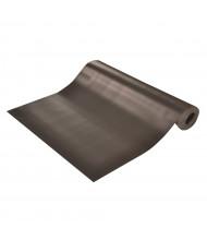 NoTrax 730 V-Groove 3' Wide Corrugated Runner Back Vinyl Floor Protection Floor Mat, Black