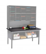 Safco E-Z Sort Tabletop for Sorting Tables (Shown in Black; table, sorter, and accessories not included)