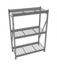 "Tennsco 48"" D 3-Shelf Bulk Storage Wire Shelving Units"