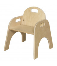 "Wood Designs Woodie 11"" H Classroom Chair"