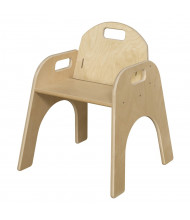 "Wood Designs Woodie 13"" H Classroom Chair"