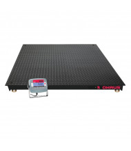 OHAUS VN Series 4 ft. x 4 ft. Legal for Trade Floor Scale, 5000 lbs. Capacity