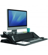 Fellowes Lotus DX Sit-Stand Workstation (Shown in Black)