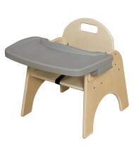 """Wood Designs Woodie 9"""" H Classroom Chair with Adjustable Tray"""