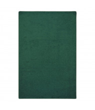 Joy Carpets Endurance Solid Color Classroom Rug, Forest