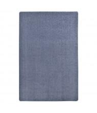 Joy Carpets Endurance Solid Color Classroom Rug, Glacier Blue