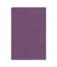 Joy Carpets Endurance Solid Color Classroom Rug, Purple