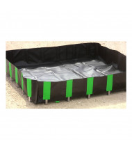 Ultratech Ultra-Containment Economy Copolymer 2000 Containment Berms (4 ft. x 6 ft. shown)