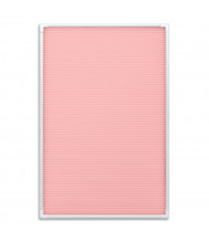 Mooreco Essentials 1' x 1.5' Letter Board, Pink/White