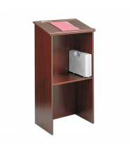 Safco Stand-Up Lectern, Mahogany