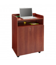 Safco Executive Mobile Presentation Stand (Shown in Cherry)