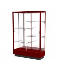 Waddell 891M Waddell Heritage 891M Series Sliding Glass Door Hardwood Floor Display Case (Shown in Cordovan / Mirror)