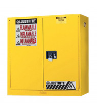 Justrite Sure-Grip EX 893400 20 Gal Wall Mount Flammable Storage Cabinet