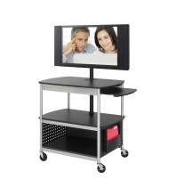 Safco 8940BL Scoot Flat Panel Multimedia Cart (example of use)