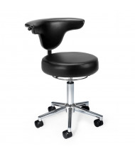 OFM 910 Anti-Microbial Vinyl Doctor's Stool (Shown in Black)
