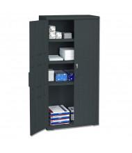 "Iceberg 33"" W x 18"" D x 66"" H Storage Cabinet (Shown in Black)"