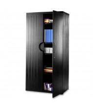 "Iceberg 36"" W x 22"" D x 72"" H Storage Cabinet (Shown in Black)"