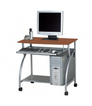 "Mayline Eastwinds Argo 947 31.5"" W Steel Laminate Mobile Computer Workstation (Shown in Medium Cherry)"