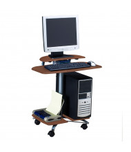 """Mayline Eastwinds 948 28.5"""" W Laminate Mobile Computer Workstation (Shown in Medium Cherry)"""