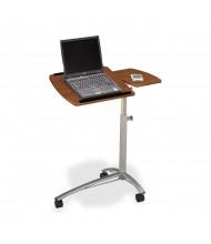Mayline Eastwinds Pin Height Adjustable Laptop Computer Caddy, Medium Cherry