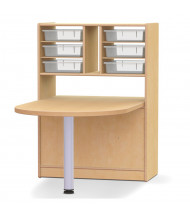 "Jonti-Craft STEM 48"" W Peninsula Table"