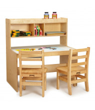"""Jonti-Craft 36"""" W x 24"""" D Writing Desk (Does not include chairs or other accessories)"""