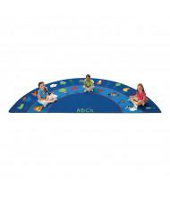 Carpets for Kids Fun with Phonics Half-Round Classroom Rug