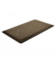 NoTrax 970 Marble Sof-Tyle Grande Laminate Back Vinyl Anti-Fatigue Floor Mats (Shown in Black)