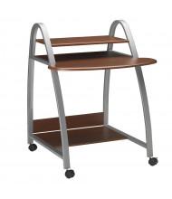 "Mayline Eastwinds 971 31.5"" W Steel Laminate Computer Cart Workstation (Shown in Medium Cherry)"