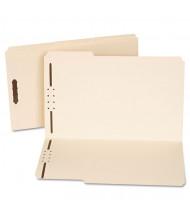 Universal Reinforced 1/3 Top Tab 2-Fastener Legal File Folder, Manila, 50/Box