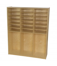 Wood Designs Childrens Classroom Cubby Locker Storage