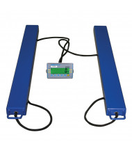 Adam Equipment AELP Pallet Beam Floor Scales, 4400 lbs. Capacity (Shown with AE402 Indicator)